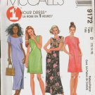 OOP MCCALL'S 9172 ONE HOUR MISSES' in 2 LENGTHS DRESS SIZES 12-14-16 UNCUT/FF