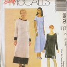 OOP MCCALL'S 9570 MISSES' DRESS IN 2 LENGTHS SIZES 12-14-16 UNCUT/FF
