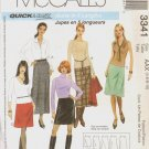 OOP McCalls 3341  Misses' A-Line Skirts in 5 Lengths Sizes 4-6-8-10  Uncut/FF