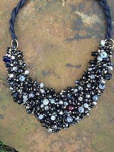 Turkish Jewelry~Necklace~Genuine Onyx & Agate Genuine Semi Precious Gemstones!