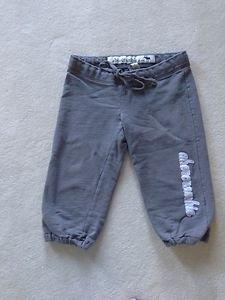 Abercrombie Cropped Sweatpants kids Size Large Gray