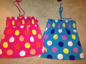 Justice LOT Of 2 GIRLS size 20 tank Tube Tops top~never Worn Nwot!! Adorable!!!