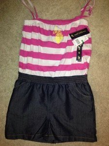 U.S. Polo Association Girls Size 16 Jumper~nwt Adorable!!