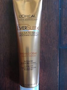 Loreal Hair  Ever Sleek Finishing Creme 48 Hour Frizz Control~NEW! WORLDWIDE SHP