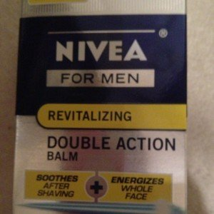 Nivea for Men 2 in 1 Revitalizing Double Action Shave Balm Coenzyme Q10 - New!