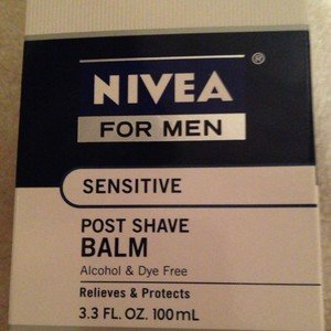 Nivea for Men Sensitive Post/After Shave Balm 3.3 ounce ~Brand New Sealed