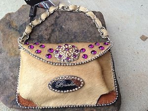 CELL PHONE PURSE~BLING~ MADE WITH THE FINEST GENUINE LEATHER~NWT~BEAUTIFUL
