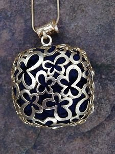Turkish Jewelry Silk Necklace~dipped in Buttery 24k Gold~ Unique Nwt From Turkey
