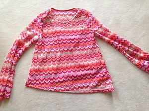 Justice Shirt W/ Built In TANK TOP~Girls Size 16 really CUTE~NWT~light WEIGHT!!
