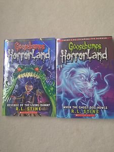Lot Of 2 Goosebump Books!!