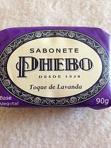 Brazilian Soap~PHEBO SOAPPHEBO BAR SOAP~toque de Lavanda~new!!