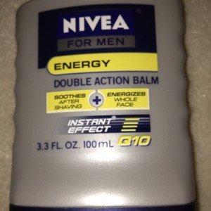 Nivea For Men ENERGY Instant Effect Q10 Double Action Balm 3.3 fl oz New!