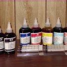 Bulk refill ink for CANON ink printer , 100ml x 7 bottles (2BK, 1C, 1M, 1Y, 1LC, 1LM)