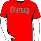 Red Outees S-XL Large Front Logo Design Inside-Out