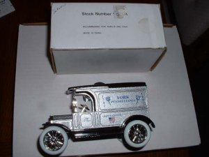 York, Pa--250 th anniversary--1991  ERTL bank--1:25 scale