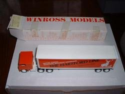 Hartford Line--Insurance.....1980  Winross  truck--made in USA---I