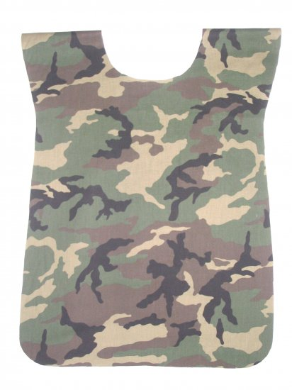 School Paint Smock -  Handmade Camo Army Art Craft Preschool Apron