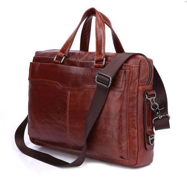 "Men's Document Bag 14"" 15""Laptop 15""Macbook Bag Ipad Case Hign End Large Tote"