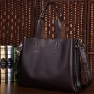 Italian Top Quality Leather Unisex Large Handbag Shoulder Bag Tote Satchel Laptop Computer Bag