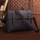 "Freeshipping Crazy Horse leather Briefcase Laptop Messenger Ipad 14"" 15"" Laptop 15"" Macbook Tote Bag"