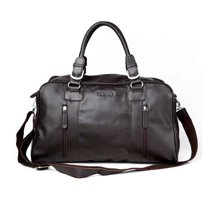 Travel Necessity Large Volume Bag Luggage Tote Baggage Freeshipping 100% Cowhide Leather Bag