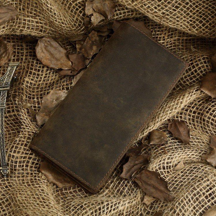 Long Wallets Vintage Wallets Multi Card Holders iPhone Case Practical Wallet-K80-30