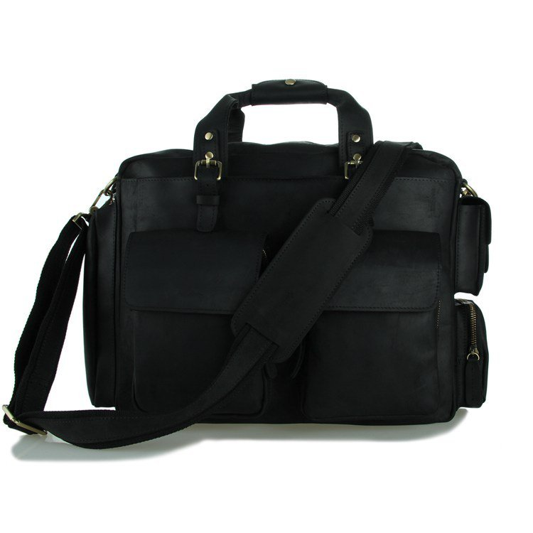 Hot Selling Large Volume Business Briefcase Messenger Bag Computer Macbook Bag - k72-19