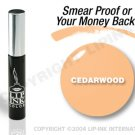 LIP INK Cedarwood Smearproof Lip Stain + Off & Shine Towelettes