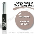 LIP INK Hathor Brown Smearproof Lip Stain + Off & Shine Towelettes