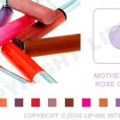 LIP INK Mother's Day Rose Quartz Smearproof Lip Stain LipGel + Off & Shine