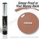 LIP INK Cocoa Smearproof Lip Stain + Off & Shine Towelettes