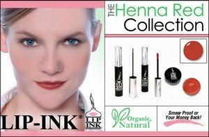 LIP INK Henna Red Smearproof Lip Stain Collection