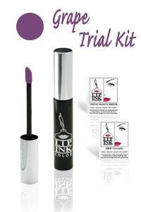 LIP INK Smearproof Lip Stain Trial Size Kit - Grape