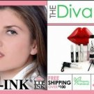 LIP INK Lip Diva Smearproof Red Lip Stain Kit