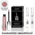 LIP INK Natural Smearproof Hollywood Diamond Lip Stain LipGel Kit + Off & Shine