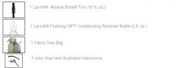 Lip Ink ® Semi-Perm Miracle Brow ® Tint-BROWN