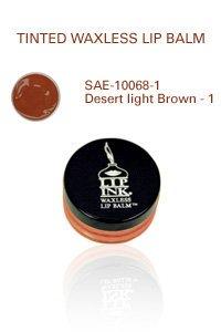 Lip Ink Tinted Waxless Lip Balm - Desert Light Brown -1