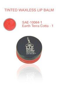 Lip Ink Tinted Waxless Lip Balm - Earth Terra Cotta - 1