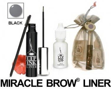 Lip Ink ®  Semi-Perm Miracle Brow ® Liner- Black