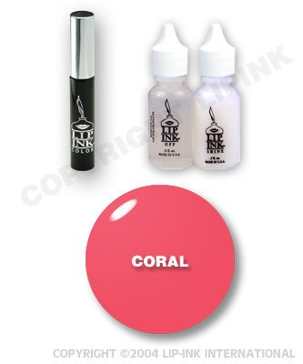 Lip Ink Special Ed Lipstick Kit Orange/Coral-Coral