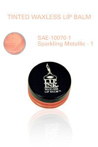 Lip Ink Tinted Waxless Lip Balm - Sparkling Metallic -1