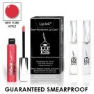 LIP INK Natural Vegan Smearproof NY Apple Lip Stain LipGel Kit + Off & Shine