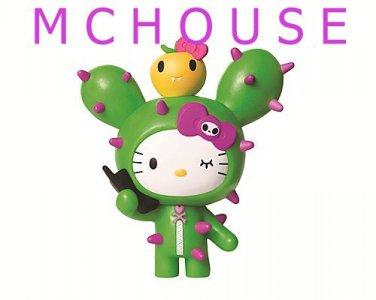 7-11 HK Sanrio Hello Kitty Tokidoki Wonderland Figurine no.1 Cactus Kitty