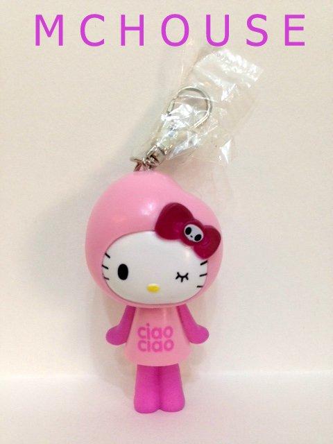 7-11 HK Sanrio Hello Kitty Tokidoki Wonderland Figurine Ciao Kitty Keychain