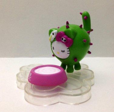 7-11 HK Sanrio Hello Kitty Tokidoki Wonderland Figurine Mini Cactus Kitty