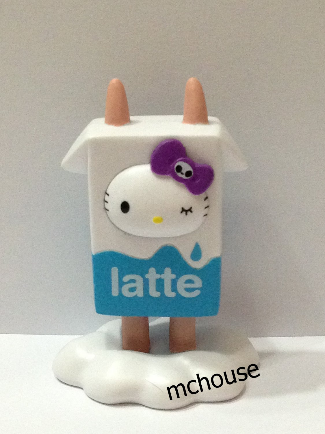 7-11 HK Sanrio Hello Kitty Tokidoki Wonderland Figurine Latte Kitty
