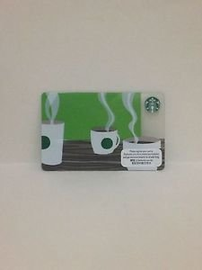 Starbucks Coffee Hong Kong Coffee Cups with greeen dot Gift Card