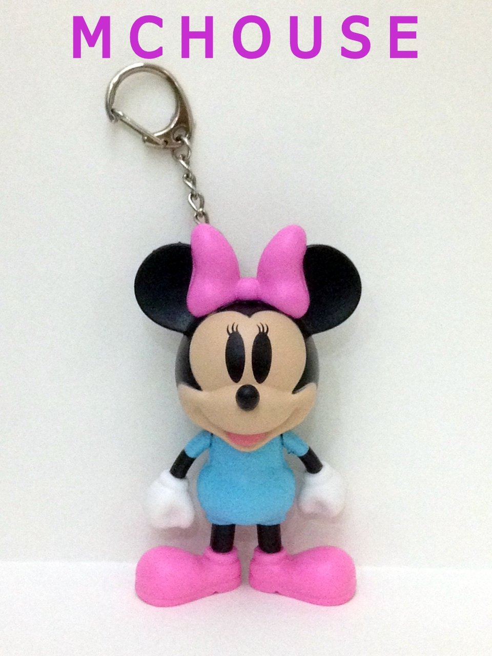 7-11 HK Disney 90th Mickey Mouse and Friends No.2 Classic Minnie Keychain