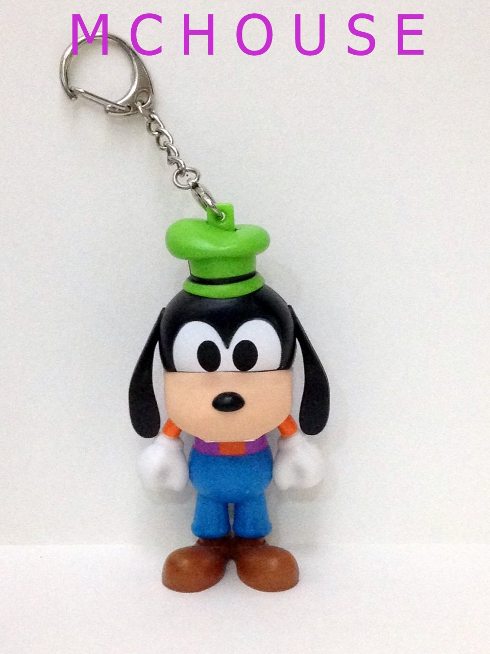 7-11 HK Disney 90th Mickey Mouse and Friends No.4 Goofy Keychain