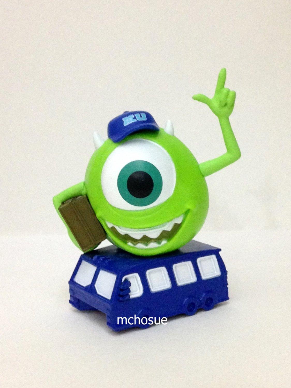 7-11 HK Disney and Friends Light Parade Figurine Car Monster Mike